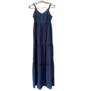 H&M Denim Summer Maxi Dress
